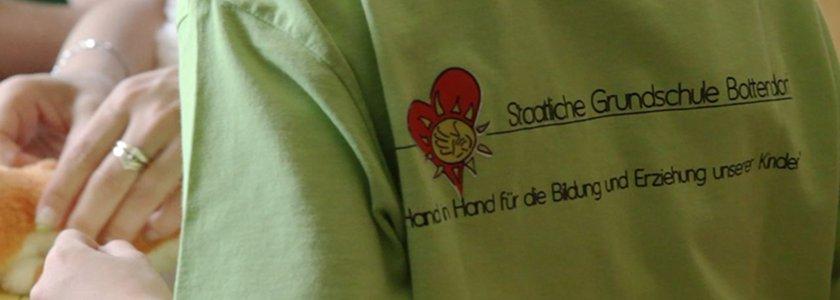 T-Shirt mit Logo der Grundschule Bottendorf
