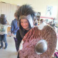 Mittelalterprojekt und Schulfest